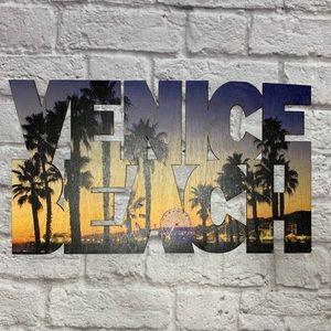 Other - Venice Beach Homemade Sign